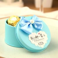 个性创意马口铁欧式喜糖盒子 结婚婚庆用品 节日派对庆典用品 工艺品 结婚礼物礼品