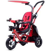 铝合金儿童三轮车脚踏车宝宝骑行车推车适合1-2-3-4-5岁B31