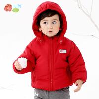 贝贝怡宝宝棉衣冬装加厚保暖婴儿衣服男儿童外套女童防风婴儿棉服