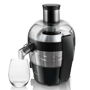 飞利浦家用电动榨汁机HR1832 高出汁率 原汁机果汁机 大口径 防滴漏