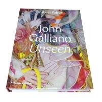 时尚服装设计书籍 John Galliano: Unseen,约翰・加利亚诺:无形 英文原版艺术服装服饰时尚服装设计图