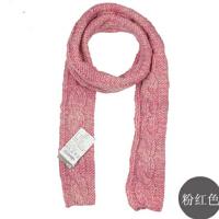时尚男女冬麻花围巾渐变色全羊毛围巾 加厚保暖手工围巾