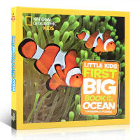 英文原版 美国国家地理少儿百科 Little Kids First Big Book of the Ocean启蒙5-