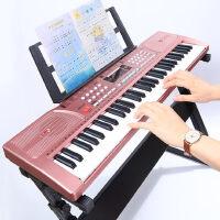 儿童电子琴61键初学者入门女孩多功能家用钢琴3-6-12岁专业玩具88