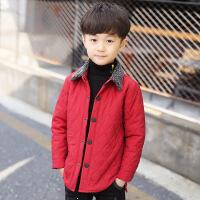 童装秋冬装男童棉衣外套2018新款儿童加厚棉袄冬季男孩棉夹克