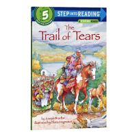 血泪之路 兰登step into reading 5阶英文原版 Trail of Tears
