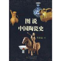 【新书店正版】图说中国陶瓷史吴战垒9787530651322百花文艺出版社