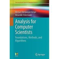 【预订】Analysis for Computer Scientists: Foundations