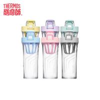 【限时抢】膳魔师/THERMOS运动水杯健身水壶随手杯奶昔杯塑料杯春夏摇摇杯TP4086包邮