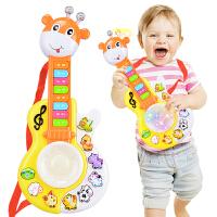 男女孩吉他可弹奏1-3岁6-12个月宝宝儿童乐器初学者