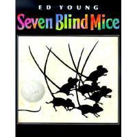 Seven Blind Mice 英文原版儿童书 《七只瞎老鼠》(1993年 凯迪克银奖绘本 )