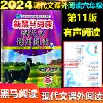 2020版新黑马阅读六年级现代文课外阅读 第九次修订版小学6年级上下册人教版通用版