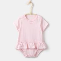 2019 婴儿服装夏款宝宝连体哈衣韩版 公主爬服婴幼儿连身衣包屁衣