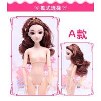 20180601195228705芭比娃娃十二素体6/12关节体裸娃生日模具烘焙3D真眼
