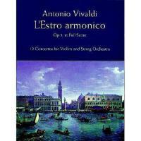 【预订】L'Estro Armonico, Op. 3, in Full Score L'Estro