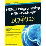 【预订】Html5 Programming with JavaScript for Dummies