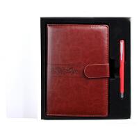 商务笔记本记事本礼盒套装时尚欧式日记本中性笔套装可定制LOGO