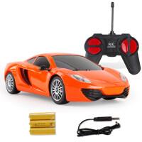 儿童遥控汽车玩具车电动充电无线漂移赛车跑车越野车模男孩儿童节礼物 官方标配