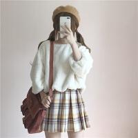 秋冬女装韩版宽松文艺百搭长袖加厚毛绒卫衣外套套头长袖上衣学生