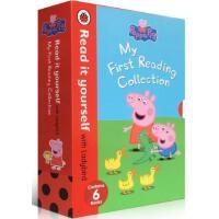 Peppa Pig Readers HardBack Slipcase 粉红猪小妹6本精装盒装【英文原版童书 小猪佩奇