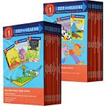 英文原版 美国兰登经典分级读物 step into reading 系列第一阶段30册全套