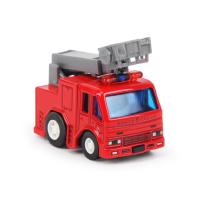 合金车小汽车玩具男孩女孩回力惯性汽车儿童消防玩具车模型仿真车