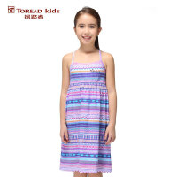 探路者Toread kids 女童风格系列吊带针织连衣裙