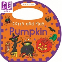 【中商原版】携带玩乐:南瓜 英文原版Carry and Play: Pumpkin