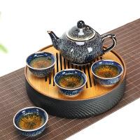 陶瓷茶盘带茶具茶壶套装