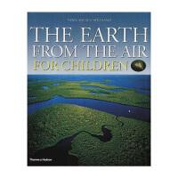 现货 The Earth from the Air for Children 为孩子空中看地球 鸟瞰地球 儿童科普书 精装