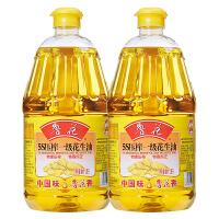 鲁花5S一级花生油1.8Lx2 食用油