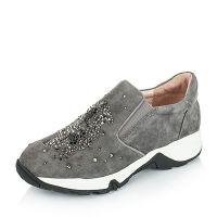 Tata/他她羊皮时尚休闲女单鞋2RM16CM6女乐福鞋