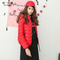 2017冬季新款韩版时尚薄中款品牌羽绒服白鸭绒轻薄压缩短款潮女士