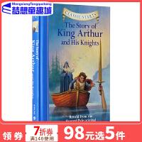 英文原版 Classic Starts: The Story of King Arthur 亚瑟王和骑士 专门为孩子编的