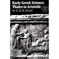 【预订】Early Greek Science: Thales to Aristotle