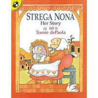 美国进口原版少儿英语绘本 Strega Nona Her Story 巫婆奶奶的故事