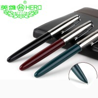 英雄钢笔 学生钢笔 616 钢套 墨水笔 铱金笔 单支装 学生练字钢笔硬笔书法笔