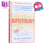 【中商原版】巴菲特学 英文原版 Buffettology Mary Buffett Scribner 金融经济读物