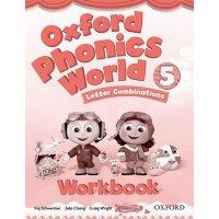 Oxford Phonics World: Level 5: Workbook【英文原版】牛津拼读世界1级:练习册