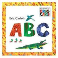 英文原版 Eric Carle's ABC 《艾瑞-卡尔教你ABC》