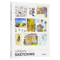 Urban Sketching : The Complete Guide to Techniques 手绘城市建筑景观书籍