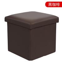 收纳凳子储物凳子可坐换鞋凳鞋柜多功能收纳凳玩具折叠 30*30*30