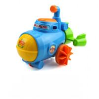 宝宝洗澡戏水酷游小乌龟发条上链小动物儿童玩具会游泳的小乌龟 潜水艇 颜色随机