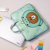 小米苹果笔记本macbook电脑包air13.3Pro14寸15.6手提包mac女可爱