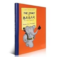 【全店300减100】英文原版绘本 The Story of Babar:The Little Elephant 小象巴