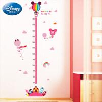 儿童房墙贴客厅卡通宝宝量身高尺墙面装饰贴画米奇身高贴纸可移除