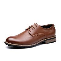 DAZED CONFUSED男鞋2017秋季新款商务正装皮鞋青年结婚鞋四季英伦风百搭休闲皮