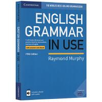 剑桥语法中级 英文原版 English Grammar in Use 英语实用 蓝宝书 Book with Answe