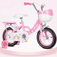 公主款脚踏单车 儿童自行车女孩2-5-6-7-8-9-10岁宝宝3小孩4女童车