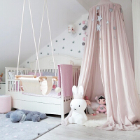 儿童帐篷儿童房圆顶床帐床幔帐篷婴儿床蚊帐